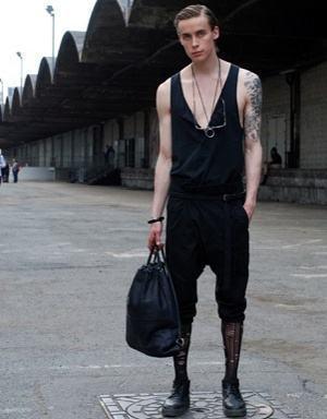calça masculino de gancho baixo