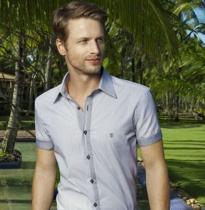 camisa individual slim fit masculina