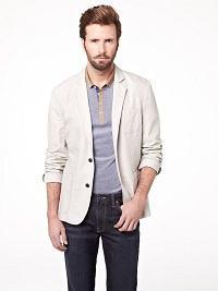 camisa polo combina com blazer