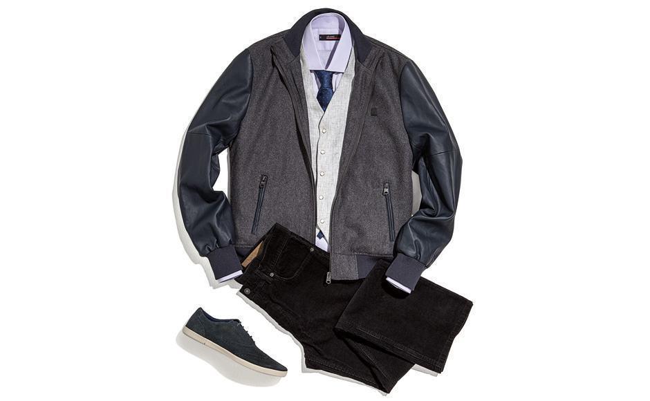 combinar colete com jaqueta