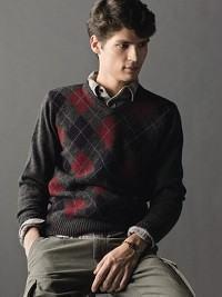 como usar suéter argyle