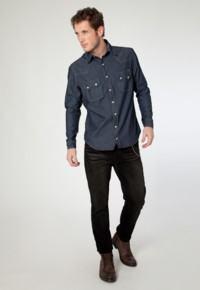 comprar calça de veludo preta masculina
