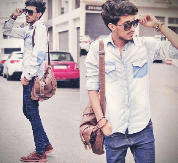 jeans masculino delavê