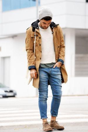 look bota masculino de inverno
