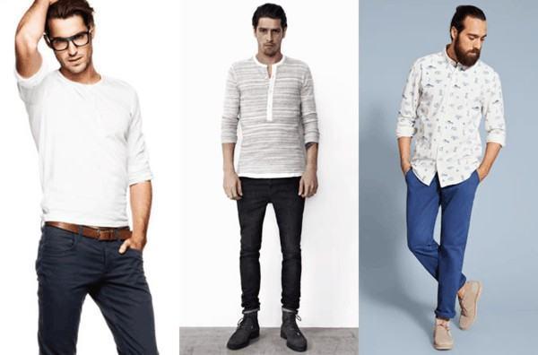moda para homem alto e pernas grandes