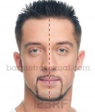 saber formato do rosto masculino 2