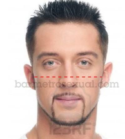 saber formato do rosto masculino 6