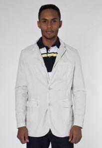 tecido ideal para blazer masculino de algodão