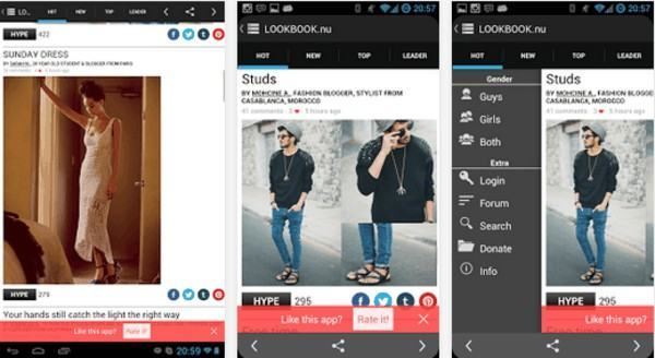 aplicativo de moda masculina para android