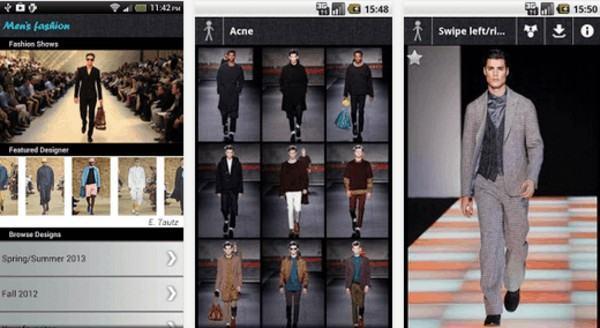 aplicativo de moda para homem android