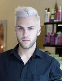 cabelo cinza homem