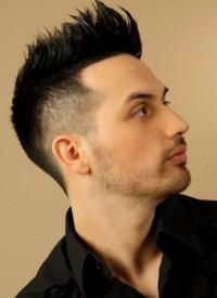 cabelo desconectado nas pontas masculino