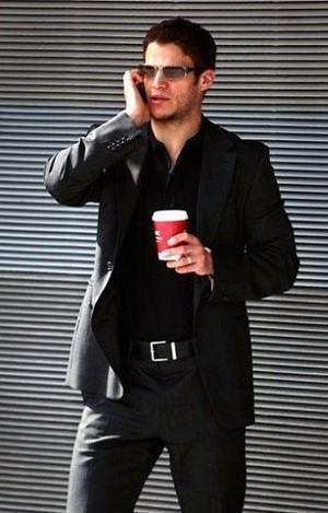 camisa social preta lisa