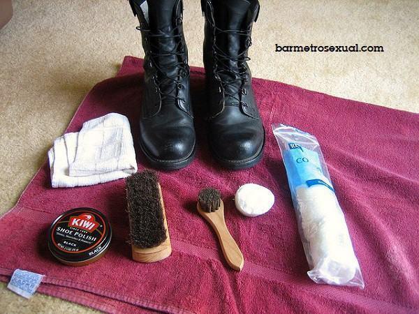 como engraxar o sapato