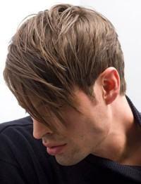 corte de cabelo fringe para homens