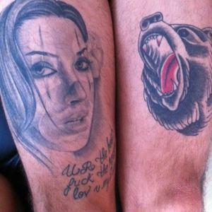 tatuagem dani bolina no mateus verdelho