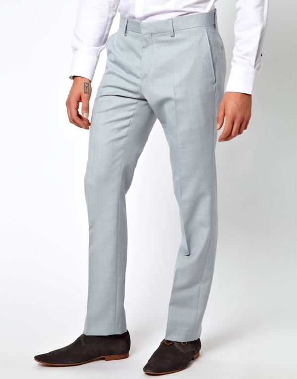 calça tipo social tecido
