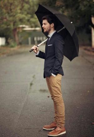 guarda chuva de alumínio masculino