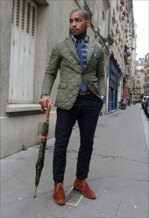 guarda chuva de madeira masculino