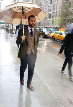 guarda chuva duas cores masculino