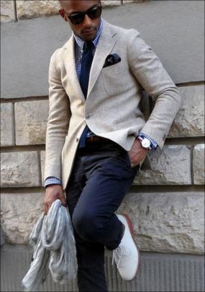 look gravata slim sem ponta