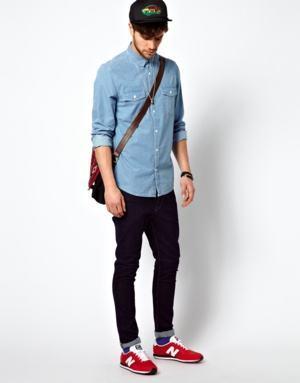 blusão azul