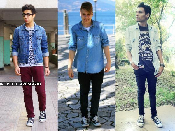 all star com camisa jeans