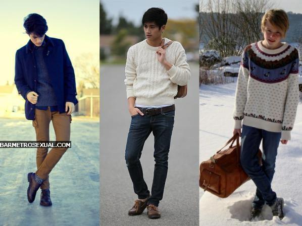 como usar casaco de tricô masculino 3