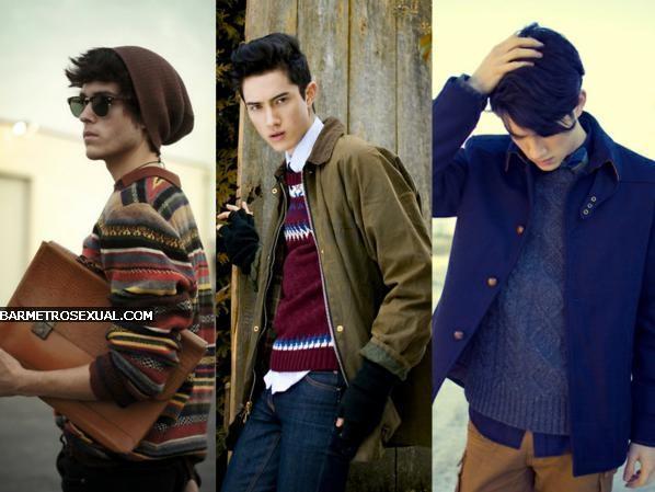 como usar casaco de tricô masculino
