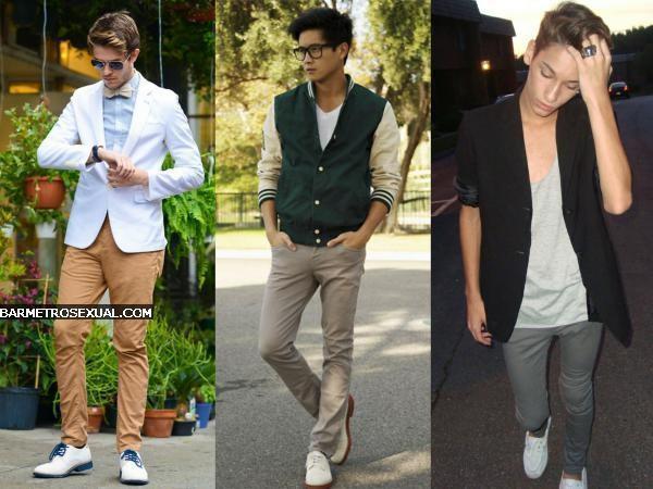 sapato branco com calça cáqui