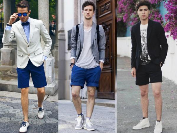 short e bermuda com blazer fora de moda 2014