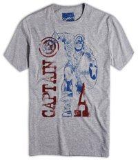 camiseta marvel capitao america