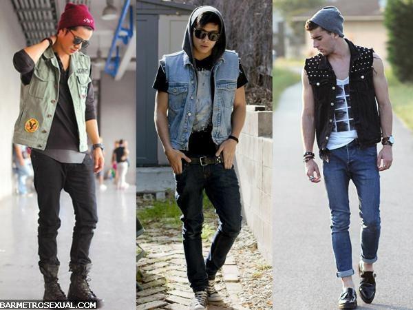 colete jeans inverno