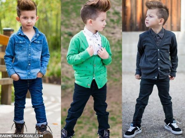 criança na moda