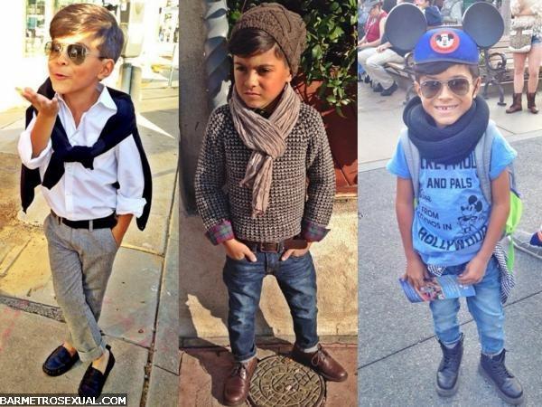 menino na moda