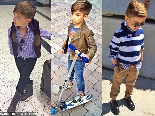 moda para menino