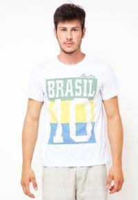 camiseta brasil masculina