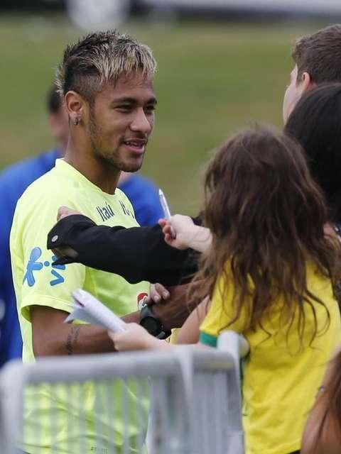 cabelo neymar loiro