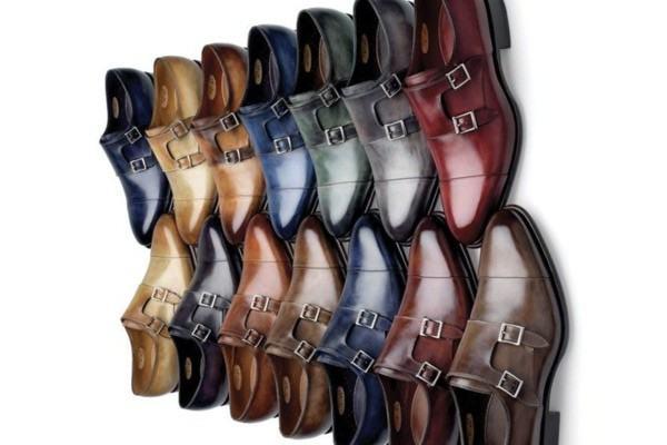 sapato de fivela masculino