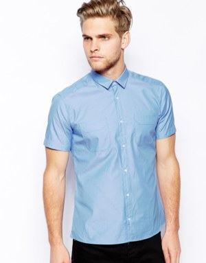 camisa manga curta masculina