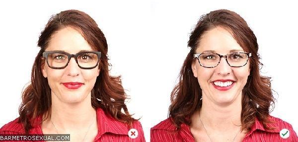 armação de oculos para nariz grande