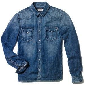 camisa jeans tommy hilfiger
