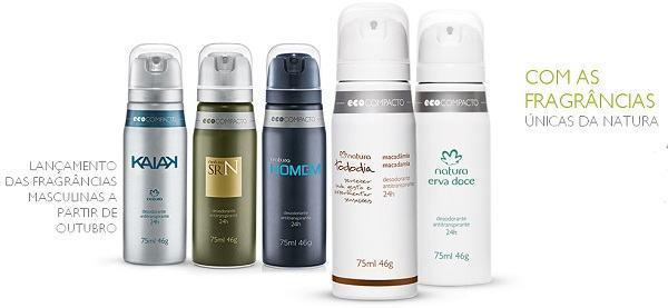 desodorantes da natura ecocompacto