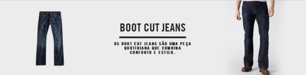 boot cut jeans o que e