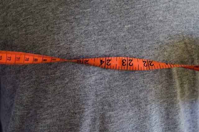 como medir tamanho peitoral