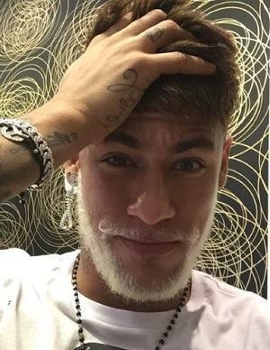 barba loira neymar