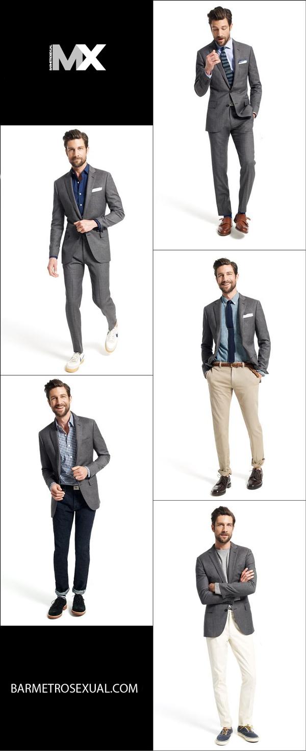 como-usar-blazer-cinza