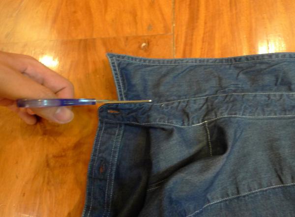 customizar camisa jeans