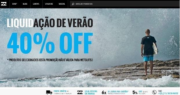 loja virtual billabong