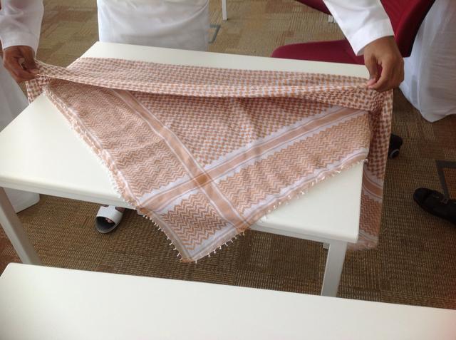 lenço arabe shemagh